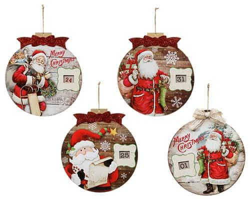 Santa con fechas