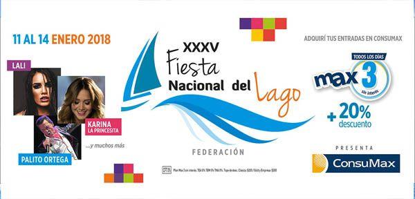 Calendario de actividades Fiesta del Lago